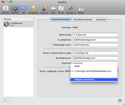 Använda, mail p, mac - Apple-support