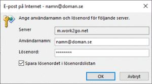 e-post pa internet