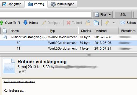 versionshantering